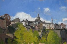 Luxembourg Sketch by Marc Dalessio