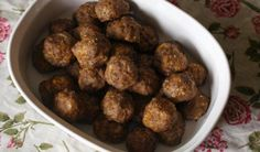 In honour of Food Revolution Day these meatballs are perfect for the freezer and lunch boxes.