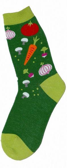 Veggie Garden Socks (Women's)