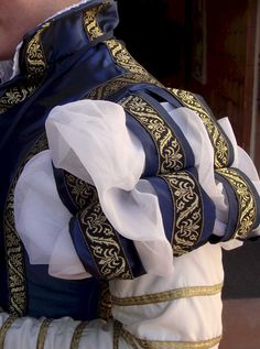 The sleeves, and the embellishment.