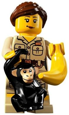LEGO – Minifigures Series 5 – ZOOKEEPER