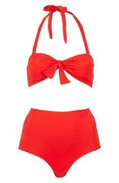 Cute Top Shop high waist bikini!