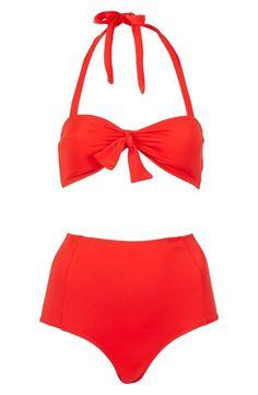 Cute Top Shop high waist bikini!