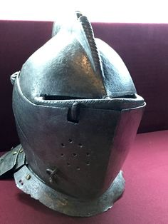 16th Century Italian Armet, Istanbul Military Museum.
