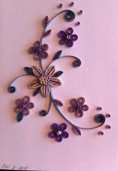 Sanne's Purple Flowers