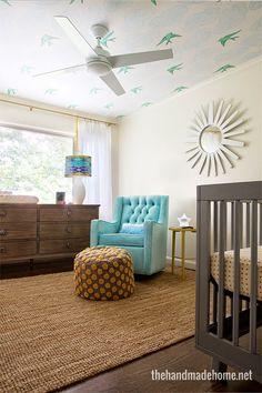 Gender neutral nursery // the handmade home