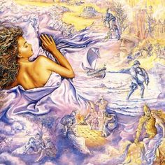 Lilac Dreams- Josephine Wall