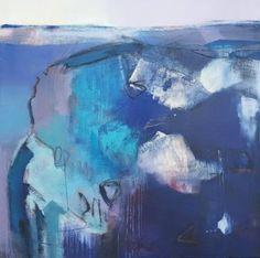 "Saatchi Art Artist Andrew Kinmont; Painting, ""Indigo 1"" #art"
