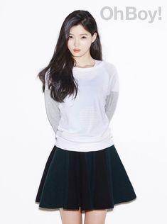 Kim Yoo-jung (김유정) - Picture @ HanCinema :: The Korean Movie and Drama Database Pretty Asian Girl, Beautiful Asian Women, Child Actresses, Korean Actresses, Asian Actors, Korean Beauty, Asian Beauty, Kim Joo Jung, Han Hyo Joo