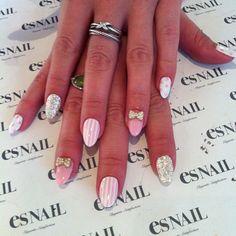 super girly manicure