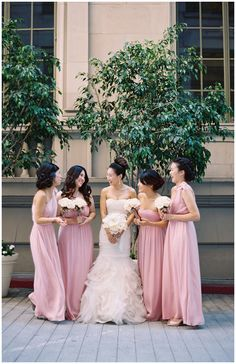 Photography: Marvin Tsai - www.marvintsai.com  Read More: http://www.stylemepretty.com/california-weddings/2014/02/24/blush-pink-cicada-wedding/