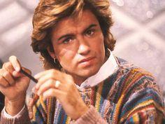 EN IMAGES. George Michael, célèbre aussi pour ses coupes de cheveux