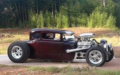 Model A Ford JR Hot Rod #hotrodvintagecars