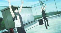 That dance doe - Kyoukai no Kanata - anime gif