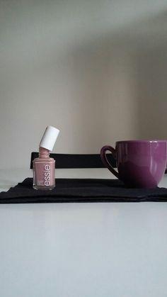 Essie time+coffee...the best way to start an amazing parisian saturday night...
