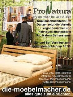 Anzeige für Pro Natura in der HErsbrucker Zeitung: http://www.die-moebelmacher.de/produkte/wohnen/schlafzimmer/pronatura.html