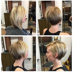 Thin Hair Cuts thin hair cuts before and after Cute Hairstyles For Short Hair, Trending Hairstyles, Short Hair Styles, Hairstyles 2018, Elegant Hairstyles, Fine Hair, Wavy Hair, Thin Hair Cuts, Corte Y Color