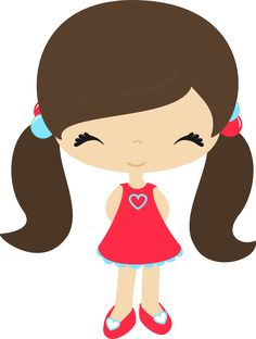 my clip art of a little girl holding a pink daisy sweet clip art rh pinterest com girl clipart face girl clipart transparent