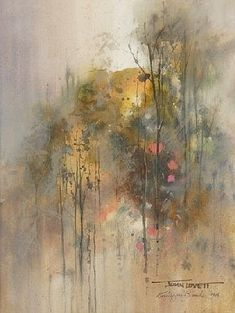 Buy online, view images and see past prices for LOVETT, John Watercolor Trees, Watercolor Artists, Watercolor Paintings, Painting Trees, Watercolours, Abstract Landscape, Landscape Paintings, Landscapes, Guache