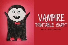 { Printable Vampire Craft }
