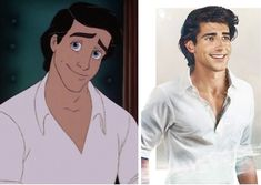 """Artist Jirka Väätäinen created brilliantly realistic renditions of what #Disney princes would look like in real life. Pictured: Prince Eric from """"The Little Mermaid"""" #art"""
