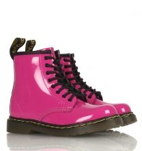 Dr-Martens-Schuhe-8-Eye-1460-Patent-in-hot-pink HOOLYWOOD-Berlin