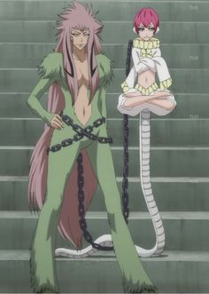 Zabimaru - monkey and snake-