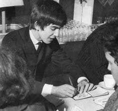 The one thing I have noticed about George is that he took time out for fans. If any would show up at Kinfauns and even for a while at Friar Park, George would meet and talk with these fans which I don't think many stars do. George was a sweet rare person and many have said that of him.