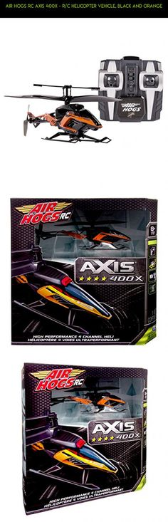 Air Hogs RC Axis 400x - R/C Helicopter Vehicle, Black and Orange #tech #400x #air #parts #fpv #hogs #plans #drone #camera #technology #kit #racing #shopping #products #gadgets