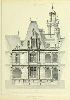 The Hôtel d'Ecoville, Caen