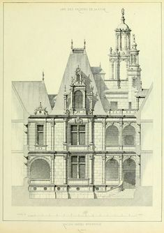 The Hôtel d'Ecoville / Caen, France