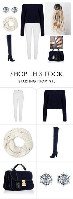 """""""Smile everyday"""" by paoladouka on Polyvore featuring River Island, Boohoo, Cejon, Stuart Weitzman, Mark Cross and Ferrucci"""