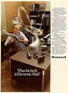 Electronic Mail Honeywell - Email in 1977 by Avi_Abrams, via Flickr