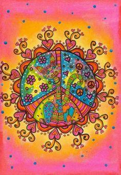 I Declare World Peace ➳➳➳☮American Hippie Art - Peace Sign hearts Hippie Peace, Happy Hippie, Hippie Love, Boho Hippie, Hippie Things, Hippie Style, Bohemian, Hippie Chick, Modern Hippie
