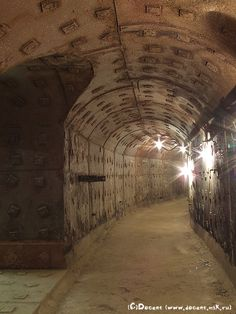 Bunker GO-42 (Moscow's Cold war museum).  I'd love to go and look at some of the Russian Cold War bunkers and equipment.