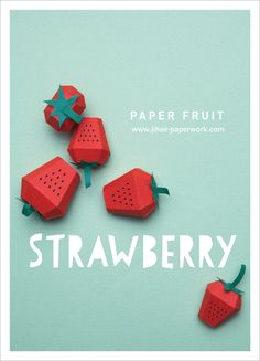 PAPER FRUITS on Behance