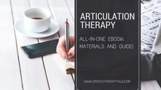 Articulation Therapy Materials