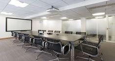 Sala de reuniões nos escritórios da Goodman em Paris, França