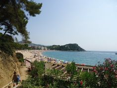 Fenals Beach, Costa Brava, Spain 2013