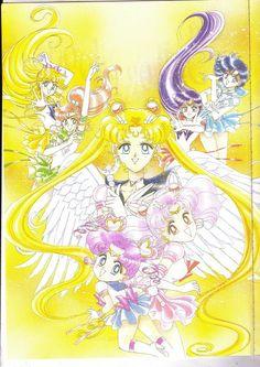 Naoko Takeuchi, Toei Animation, Bishoujo Senshi Sailor Moon, Makoto Kino, Sailor Chibi Moon
