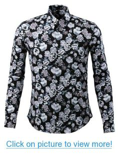 New men/'s shirt dress formal long sleeve prom party pointed collar med gray