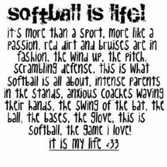 Fastpitch is my life:)