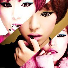 Korean Pop fashion Makeup