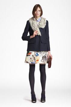 Sfilata Carven New York - Pre-collezioni Autunno Inverno 2013/2014 - Vogue