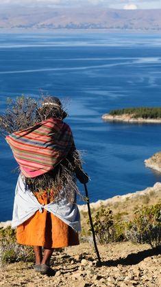 Jour 7 - balade sur les bords du lac Titicaca à la rencontre des communautés locales  Photo @ wallpaperswiki.org