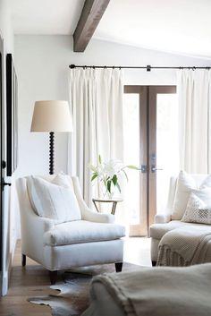 White Bright Living Room Design | Akin Design Studio Blog