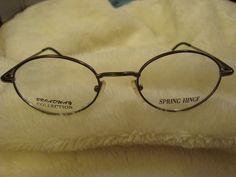 36a6be46e2 Broadway Collection Flex Spring Hinge Gunmetal Silver Eyeglasses Frame  40-20-135  BroadwayCollection