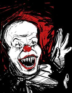Horror Classics: Pennywise by SGTMADNESS on DeviantArt