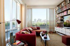 Contemporary Family Room - contemporary - Family Room - New York