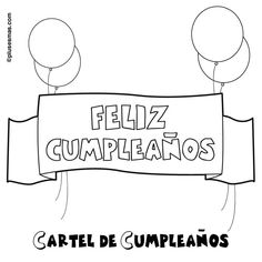 Amazing Feliz Cumpleanos Letras Para Colorear 87 For Child with Feliz Cumpleanos Letras Para Colorear Ideas Aniversario, Free Hd Wallpapers, Free Coloring Pages, Colorful Pictures, Desktop Pictures, Amazing, Happy Birthday, Lettering, My Love